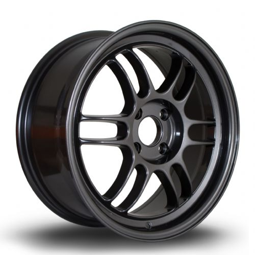 356 Wheels TFS3 17x7.5 ET35 4x100 Gun Metal